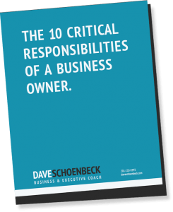 The 10 Critical Responsibilities of a Business Owner